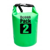 Waterproof bag Green Ocean Pack2 - Inside-Pc