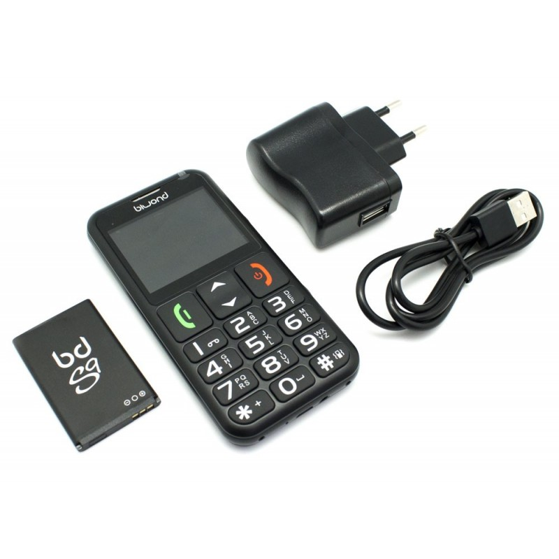 Cash For Cameras Near Me >> Mobile Phone Dual SIM SeniorPhone Biwond S9 Black - Inside-Pc - Inusnet.com - Inside-Pc Baza