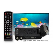 Mini TDT SCART HD Reproductor Grabador DVB-T2 TDTy+ Sound BIWOND - Inside-Pc