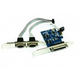 TARJETA PCI-E 2P SERIE 1P PARALELO APPROX - Inside-Pc