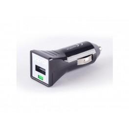 CARGADOR USB APPROX COCHE NEGRO - Inside-Pc