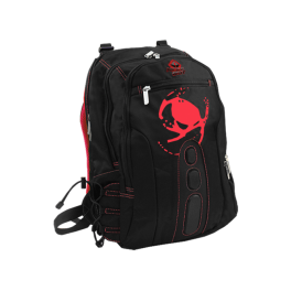 "MOCHILA KEEP OUT BK7RXL NEGRA ROJA 17"" - Inside-Pc"