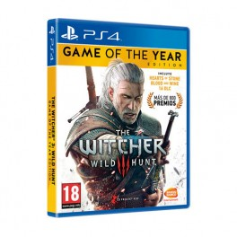 JUEGO SONY PLAYSTATION PS4 THE WITCHER 3: WILD HUNT GOTY - Inside-Pc