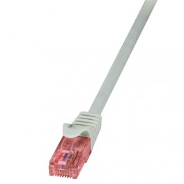 CABLE RED U/UTP CAT6 RJ45 LOGILINK 5M - Inside-Pc