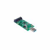 Adaptador Mini PCI-E mSATA a USB3.0 - Inside-Pc