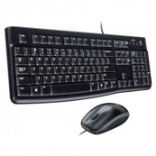 LOGITECH KEYBOARD + MOUSE MK120 USB ENGLISH - Inside-Pc