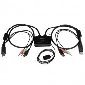 CONMUTADOR SWITCH KVM 2 PUERTOS DISPLAYPORT STARTECH - Inside-Pc