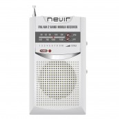 RADIO NEVIR DE BOLSILLO NVR-136 PLATA - Inside-Pc