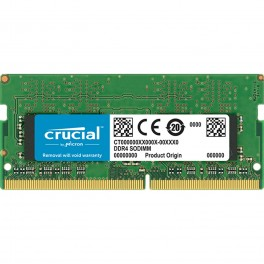 Ddr4 8gb Crucial Memory Sodimm 2400mhz Pc4 19200 Cl17 Srx8