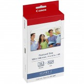 MULTIPACK CANON KP-36IP CARTUCHO TINTA COLOR + PAPEL FOTOGRÁFICO 100X148MM - Inside-Pc
