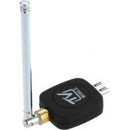 Receptor Portátil Mini DVB-T Micro USB Android + Antena Externa - Inside-Pc