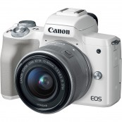 CAMARA DIGITAL RÉFLEX CANON EOS M50 M15-45 S - CMOS - 24.1MP - DIGIC8 - 4K - WIFI - NFC - BLUETOOTH - BLANCA - Inside-Pc