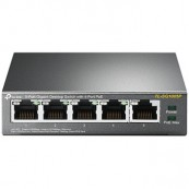 SWITCH 5 PUERTOS 10/100/1000 POE 56W TP-LINK TL-SG1005P - Inside-Pc