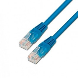 CABLE RED ETHERNET UTP CAT6 RJ45 AISENS 0.5M AZUL - Inside-Pc