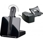 AURICULAR CORDLESS CS540 PLANTRONICS+ DESCOLGADOR PARA TELEFONO FIJO CON CABLE EN BOX - Inside-Pc