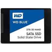 "DISCO DURO SOLIDO SSD WD BLUE 2TB 2.5"" SATA 3D 7MM - Inside-Pc"