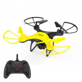 AERIAL DRONE HAWK-X35 PHOENIX - 6 AXES - MOBILE CONTROL - STABILIZER -  CAMERA 360P WIFI FPV - TAKES OFF AND LANDS - Inside-Pc