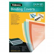 PACK DE 100 PORTADAS DE PVC TRANSPARENTE FELLOWES 5375901 - Inside-Pc