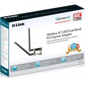 ADAPTADOR WIFI AC1200 DUAL-BAND PCI EXPRESS D-LINK - Inside-Pc