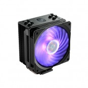 DISIPADOR CPU MULTISOCKET Cooler Master HYPER 212 RGB BLACK EDITION - Inside-Pc