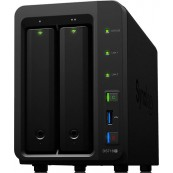 NAS SERVER SYNOLOGY DISK STATION DS718- - 2GB - 2 BAYS - RAID - ETHERNET GIGABIT - Inside-Pc