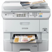 IMPRESORA MULTIFUNCION EPSON WORKFORCE WF-6590DWF PRO FAX - 34PPM - USB - RED - WIFI - DUPLEX TOTAL - ADF - NFC - Inside-Pc