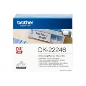 ETIQUETAS BROTHER DK22246 10.3mm X 30.48m - 1 BOBINA - Inside-Pc