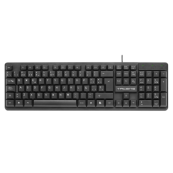 TECLADO ANIMA AK0 NEGRO USB - Inside-Pc
