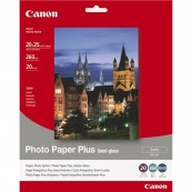 PAPEL FOTO CANON SG-201 1686B018 8X10 - 20 HOJAS - SEMI-SATINADO - Inside-Pc