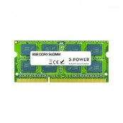 MEMORIA RAM 2-POWER MEM0803A 8GB - DDR3L - MULTISPEED 1066/1333/1600 MHZ - SODIMM - 204PIN - 1.35V - Inside-Pc