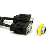 CABLE PROLONGADOR VGA PHOENIX MACHO MACHO 5M NEGRO - Inside-Pc