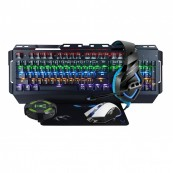 KIT GAMING WOXTER STINGER ELITE MECHANICAL KEYBOARD - MOUSE - MOUSEPAD - HEADPHONES - HUB - Inside-Pc