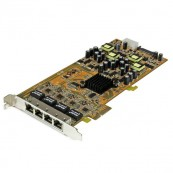 TARJETA ETHERNET 4X PoE GIGABIT PCI-EXPRESS GIGABIT STARTECH  - Inside-Pc