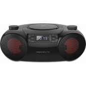 Radio CD Bluetooth Estéreo - MP3 - USB - Energy Boombox 6 - Inside-Pc