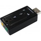 TARJETA DE SONIDO Approx USB 7.1 - Inside-Pc