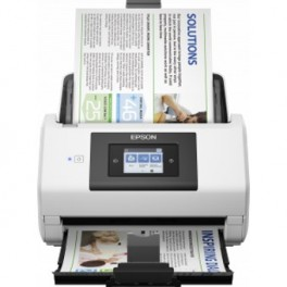 SCANNER EPSON WORKFORCE DS-780N A4 - 45PPM - PROFESSIONAL - DUPLEX - USB3.0 - RED - ADF - Inside-Pc