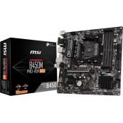 PLACA BASE MSI AMD AM4 B450M PRO-VDH MAX - Inside-Pc