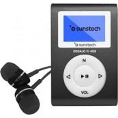 REPRODUCTOR MP3 SUNSTECH DEDALOIII 8GB GRIS - Inside-Pc